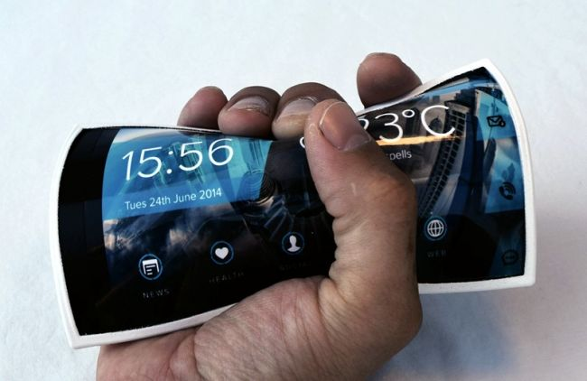 Smartphone flexible prototype